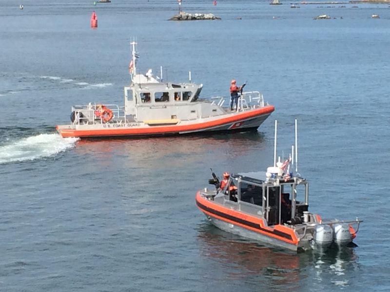 2014-08-21 Coast Guard at Woods Hole